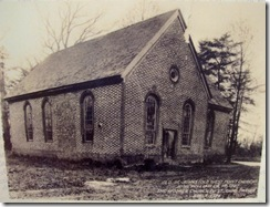 Old St. Johns Church Photo in 1927