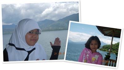 View di danau singkarak