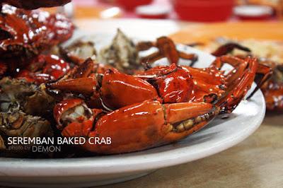 Seremban Baked Crab