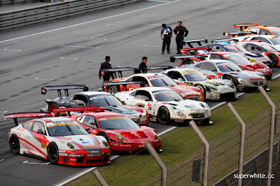 Super GT International 2009 Sepang Day 2: Podium Ceremony