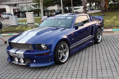 Super GT International 2009 Sepang Day 2: Ford Mustang