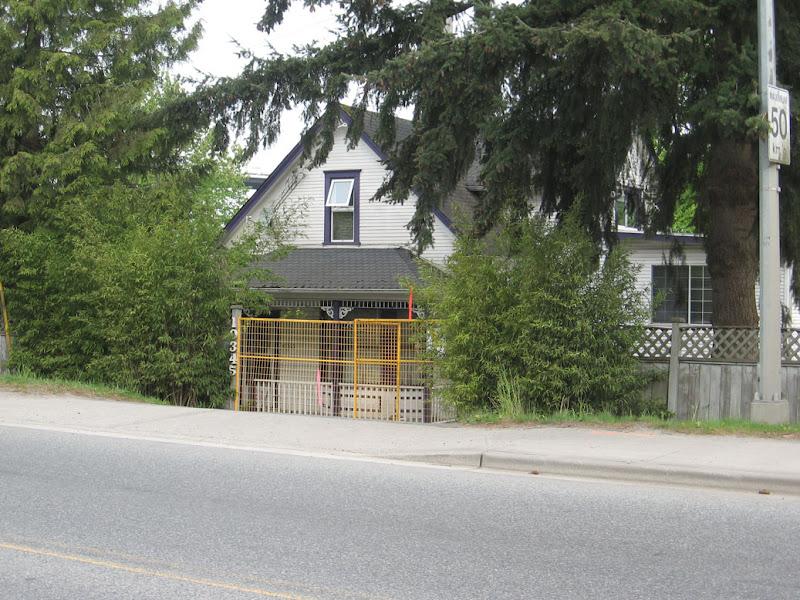 10345 River Road Annieville Delta BC Before Demolition