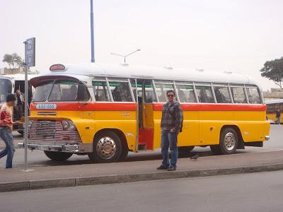 Malta - Ônibus típicos