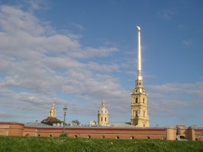 Fortaleza de São Pedro e São Paulo - São Petersburgo - Rússia