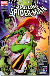 P00119 -  118 - Secret Invasion - Spider-Man - Brand New Day #3