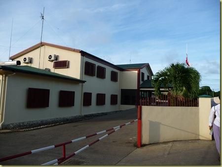 Tongan Army Headquarters Nuku'alofa