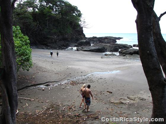 Secret little beach Costa rica