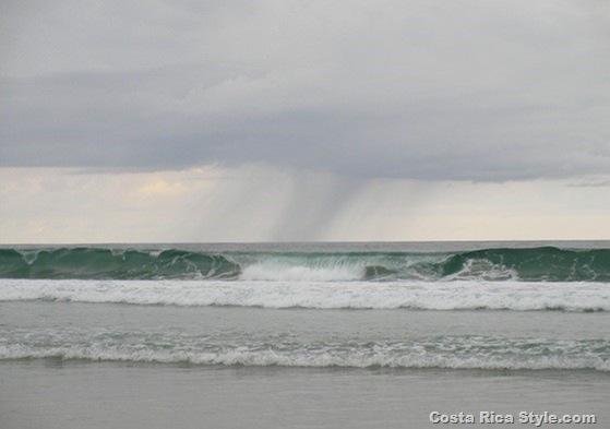 Costa Rica Beach Rain