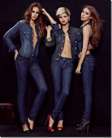 Levi's launches jeans for real women
