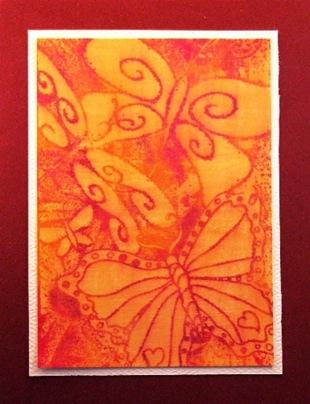 2010 08 LRoberts Better Backgrounds Butterflies Collage Card