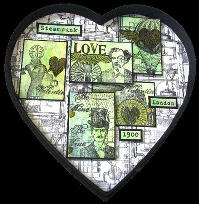 2011 02 LRoberts ATCs Beyond Trading Steampunk Valentine Heart Display Box