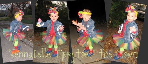 Jennabelle Twinkletoes the Clown