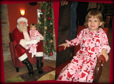 12.18.2010 Breakfast with Santa Collage