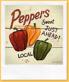 3183~Peperoni-dolci-Posters