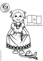 es-colorear-dibujos-imagenes-foto-maria-con-bandera-mexicana-p5636