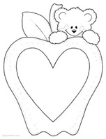 amor -bear_apple_frame