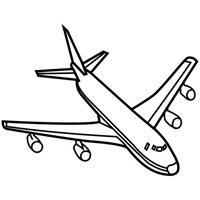 jugarycolorear.com- Avión