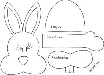 ... en foami con conejos y corderos fáciles de hacer con moldes y