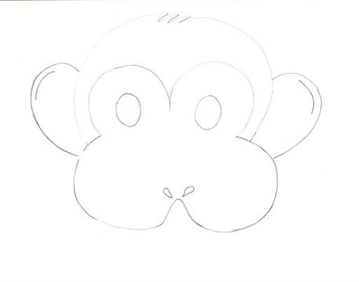 Mascara de animales para niños en foami - Imagui