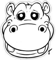 hipopotamo colorear (2)