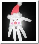 manualidades navidad huella manos (1)
