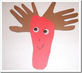 manualidades navidad huella manos (2)