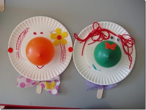Manualidades niños hechas con platos de plástico o cartón - Jugar ...