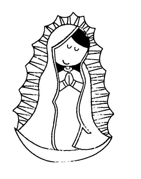 La Rosa De Guadalupe Coloring Pages