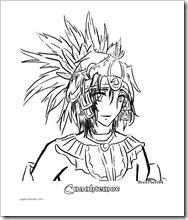 Cuauhtémoc estilo anime 1