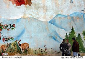 نقاشیهای دیواری در شهر تبریز