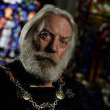 "In this  Saturday, Nov. 7, 2009 photo, US actor Donald Sutherland, seen, during the filming of Ken Follett's ""The Pillars of the Earth"" in Astra Studios,  in Fot, near Budapest, Hungary. ""The Pillars of the Earth"" is an eight-hour adaptation of the bestseller about the construction of an English cathedral in the 12th century. The series is being shot in Hungary and Austria and  is due to be broadcast in 2010. (AP Photo/Bela Szandelszky)"