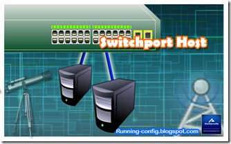 switchport host