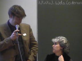 Peter Pels en Patricia Spyer - WDO Symposium 2003