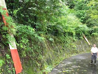 新丸山ダム建設予定のライン