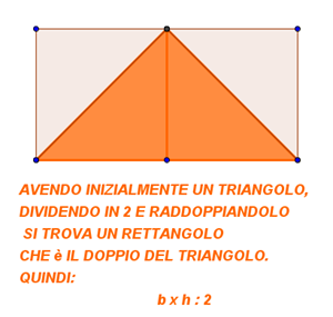 area triangolo