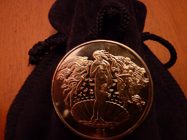 Moneda  El Nacimiento de Venus P1010878