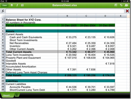 QuickOffice-iPad-App