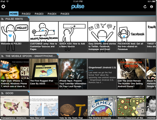 pulse for ipad