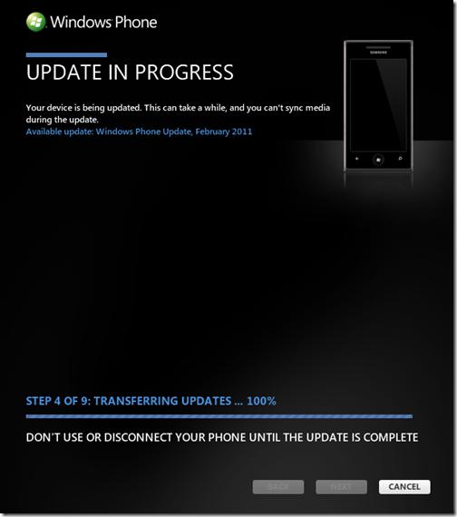 WP7-Update