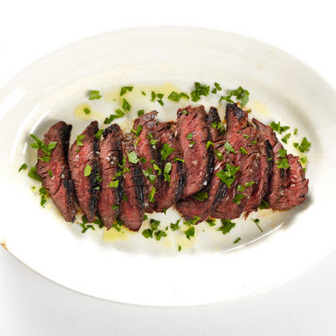 St. Anselm's Garlic Steak