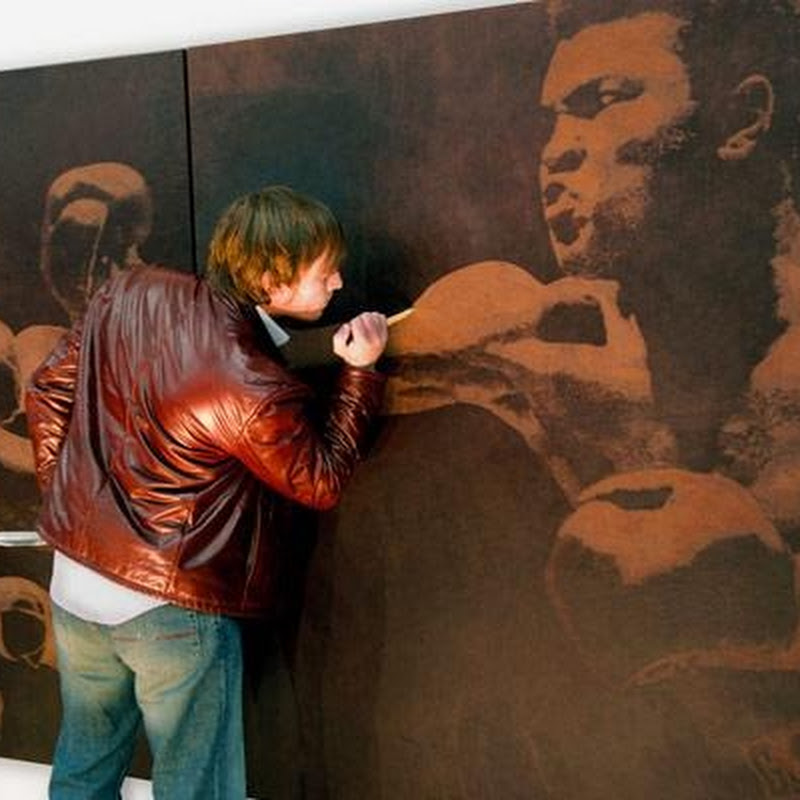 Incredible Leather Etching Artwork by Mark Evans