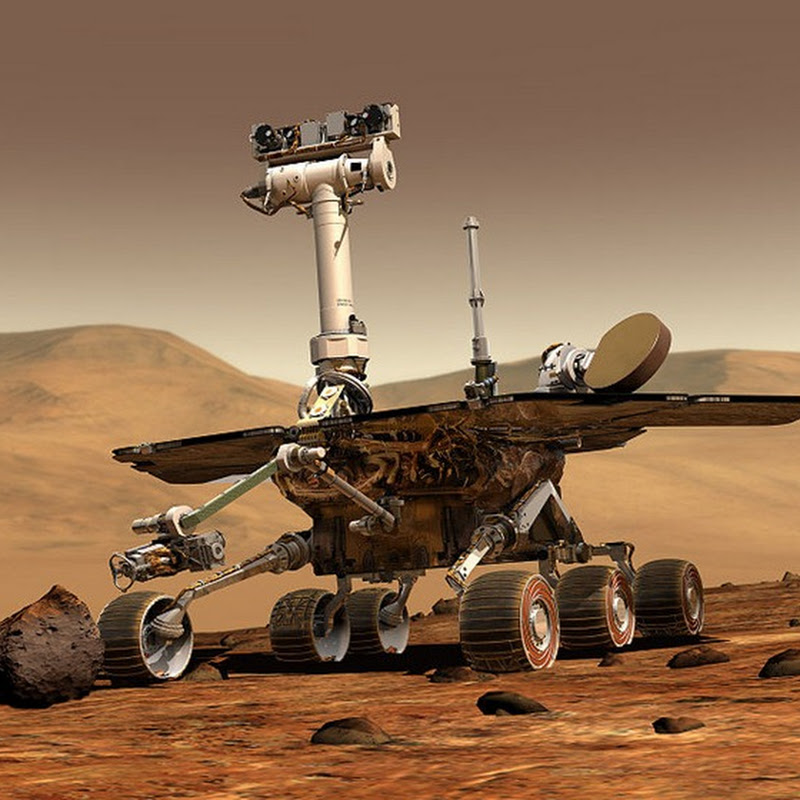 In Memory of Spirit, the Mars Rover