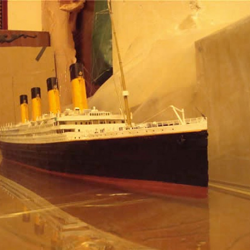 Paper Model of Titanic