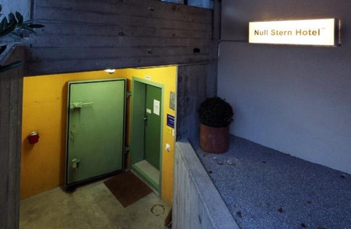 Null Stern Hotel of Switzerland: Bomb Shelter Turned Hotel