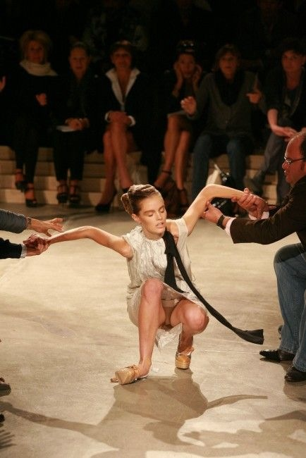 Fashion Show Oops (or How to break your ankle)