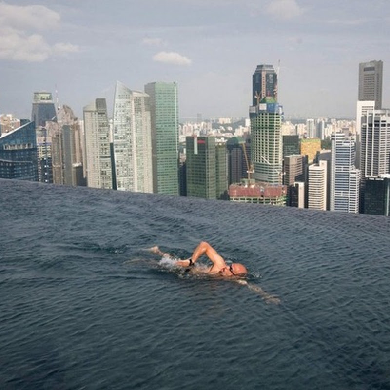Infinity Pool at Marina Bay Sands Hotel