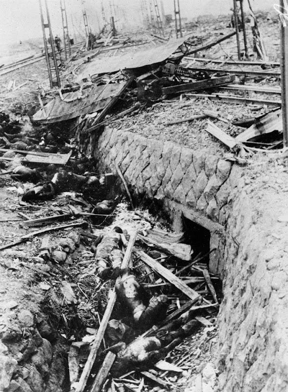 NAGASAKI DEAD 1945