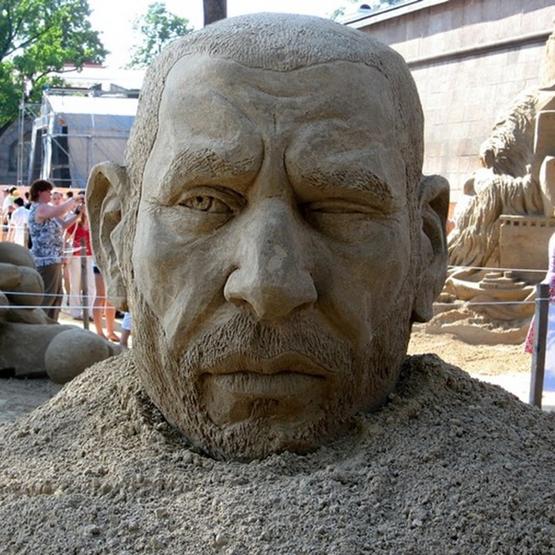International Festival of Sand Sculpture, St. Petersburg