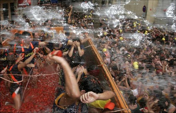 SPAIN-FESTIVAL-TOMATINA