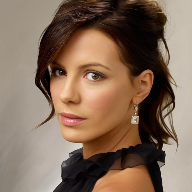 Incredibly Realistic Digital Illustration of Celebrities